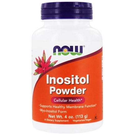 DROPPED: NOW Foods - Inositol Powder--Vegetarian - 4 oz.