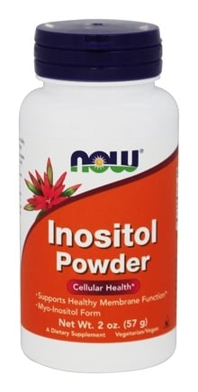 DROPPED: NOW Foods - Inositol Powder--Vegetarian - 2 oz.