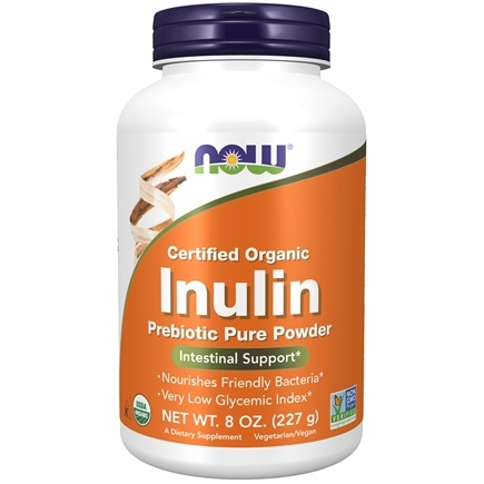 NOW Foods - Inulin Powder Pure Fos - 8 oz.