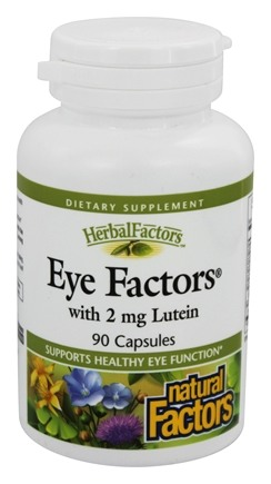 Natural Factors - Eye Factors with Lutein 2 mg. - 90 Capsules