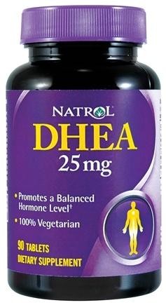 DROPPED: Natrol - DHEA 25 mg. - 90 Tablets