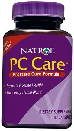 DROPPED: Natrol - PC Care - 60 Capsules