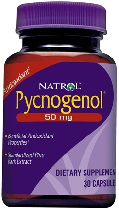 DROPPED: Natrol - Pycnogenol 50 mg. - 30 Capsules CLEARANCE PRICED