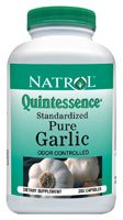 DROPPED: Natrol - Quintessence Pure Garlic 500 mg. - 250 Capsules