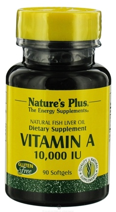 DROPPED: Nature's Plus - Vitamin A 10000 IU - 90 Softgels CLEARANCE PRICED