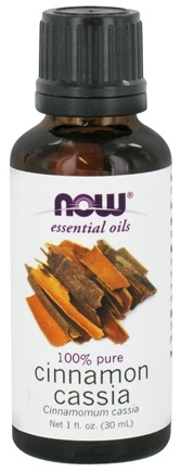 NOW Foods - Cassia Oil - 1 oz.