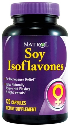 DROPPED: Natrol - Soy Isoflavones - 120 Capsules CLEARANCE PRICED