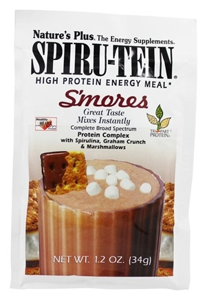DROPPED: Nature's Plus - Spiru-Tein High Protein Energy Meal S'Mores - 1 Packet