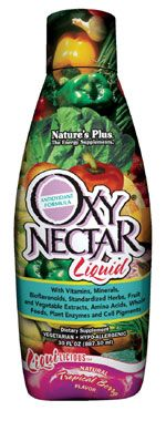 DROPPED: Nature's Plus - Liquilicious Oxy Nectar Liquid Tropical berry - 30 oz. CLEARANCE PRICED