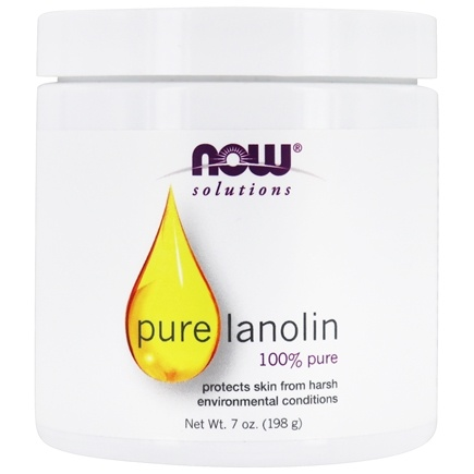 NOW Foods - Pure Lanolin - 7 oz.