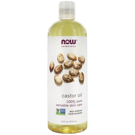 NOW Foods - Castor Oil - 16 oz.