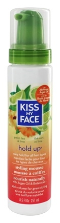 Kiss My Face - Styling Mousse Hold Up Easy Hold - 8.5 oz.
