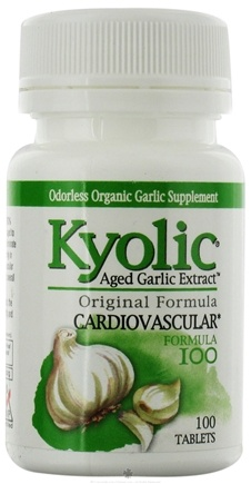 DROPPED: Kyolic - Formula 100 Garlic Extract Yeast Free - 100 Tablets CLEARANCED PRICED