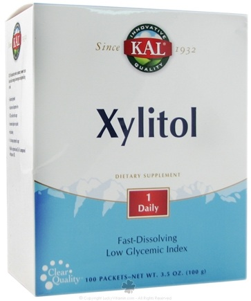 DROPPED: Kal - Xylitol - 100 Packet(s)