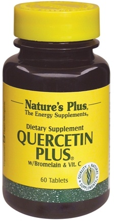 DROPPED: Nature's Plus - Quercetin Plus - 60 Tablets