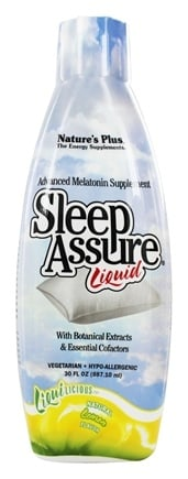 Nature's Plus - Liquilicious Sleep-Assure Liquid Lemon - 30 oz.