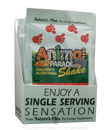 DROPPED: Nature's Plus - Source of Life Animal Parade Shake Packets Delicious Mixed Berry - 1 Packet
