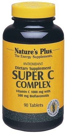 DROPPED: Nature's Plus - Super C Complex 1000 mg. - 90 Tablets