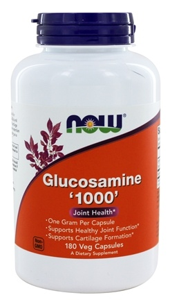NOW Foods - Glucosamine 1000 mg. - 180 Capsules