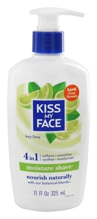Kiss My Face - Moisture Shave Key Lime - 11 oz.