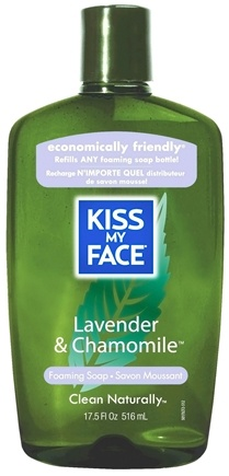 DROPPED: Kiss My Face - Liquid Soap Self Foaming Refill Lavender & Chamomile - 17.5 oz. CLEARANCE PRICED