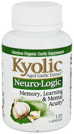 DROPPED: Kyolic - Aged Garlic Extract Neuro Logic - 120 Capsules CLEARANCE PRICED