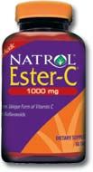 DROPPED: Natrol - Ester-C with Bioflavonoids 1000 mg. - 120 Tablets