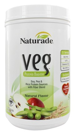 Naturade - Veg Protein Booster Natural Flavor - 30 oz.