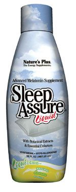DROPPED: Nature's Plus - Liquilicious Sleep-Assure Liquid Lemon - 8 oz.
