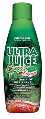 DROPPED: Nature's Plus - Liquilicious Ultra Juice Green® Liquid - Tropical Fruit Tropical Friut - 8 oz.