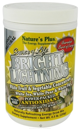 DROPPED: Nature's Plus - Source of Life Bright Lightning Energy Drink Mix - 0.5 lbs. CLEARANCE PRICED