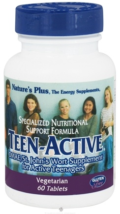 DROPPED: Nature's Plus - Teen-Active - 60 Tablets CLEARANCE PRICED