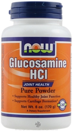 DROPPED: NOW Foods - Glucosamine HCl Pure Powder (Superior Joint Support) - 6 oz.