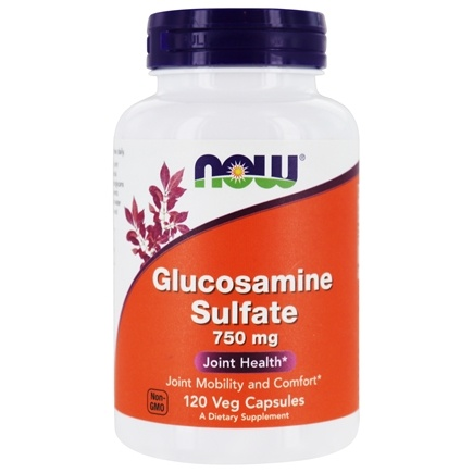 NOW Foods - Glucosamine Sulfate (Superior Joint Support) 750 mg. - 120 Capsules