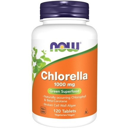 NOW Foods - Chlorella 1000 mg. - 120 Tablets