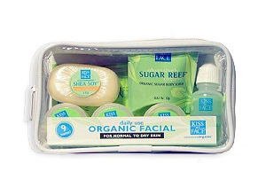 DROPPED: Kiss My Face - Normal to Dry Organic Facial Trial Pack - 1 Pack(s)