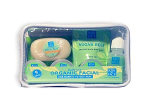 DROPPED: Kiss My Face - Normal to Oily Organic Facial Trial Pack - 1 Pack(s)