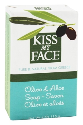 DROPPED: Kiss My Face - Bar Soap Olive & Aloe - 4 oz.