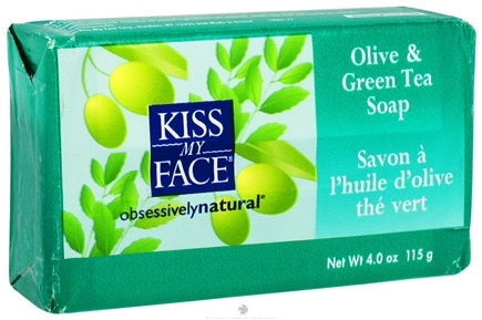 DROPPED: Kiss My Face - Bar Soap Olive & Green Tea - 4 oz.