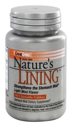 DROPPED: Lane Labs - Natures Lining - 60 Chewable Tablets