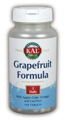 DROPPED: Kal - Grapefruit Formula - 120 Tablets