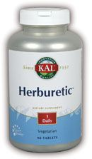 DROPPED: Kal - Herburetic - 90 Tablets