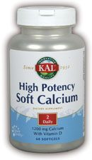 DROPPED: Kal - High Potency Soft Calcium - 60 Softgels