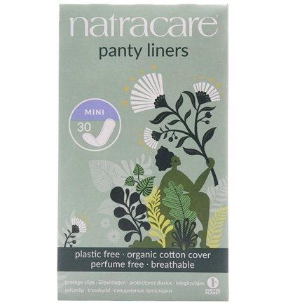 Natracare - Organic Cotton Natural Panty Liners Mini - 30 Liner(s)
