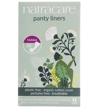 Natracare - Organic Cotton Natural Panty Liners Tanga - 30 Liner(s)