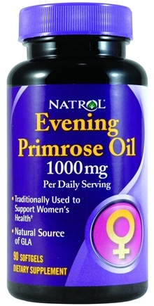 DROPPED: Natrol - Evening Primrose Oil CLEARANCE PRICED - 90 Softgels