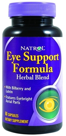 DROPPED: Natrol - Eye Support Formula Herbal Blend - 60 Capsules