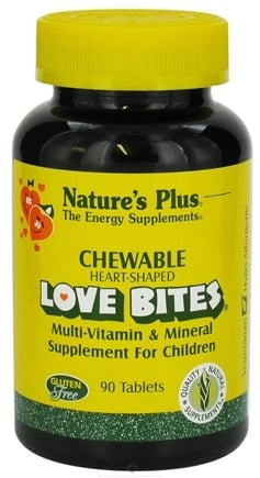 DROPPED: Nature's Plus - Love Bites Children's Chewable - 90 Chewable Tablets