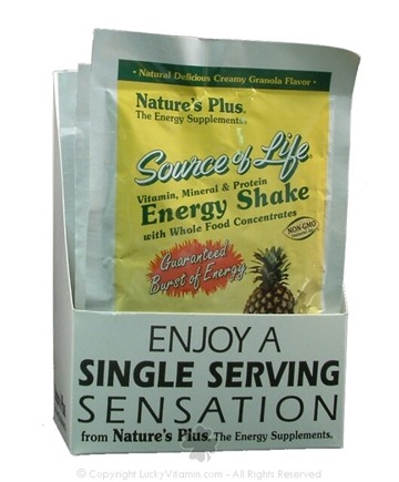 DROPPED: Nature's Plus - Source of Life Energy Shake Single Serving - 1 Packet(s)