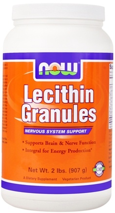 DROPPED: NOW Foods - Lecithin Granules - 2 lbs.